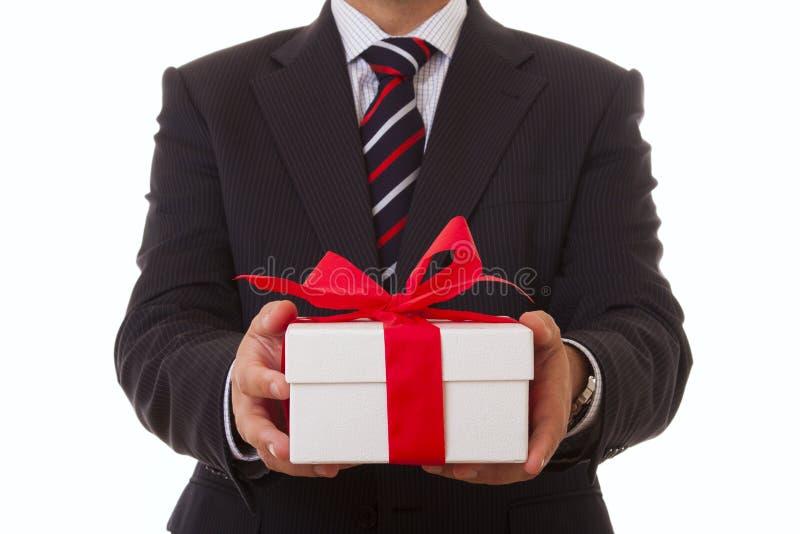 商人提议 免版税库存图片