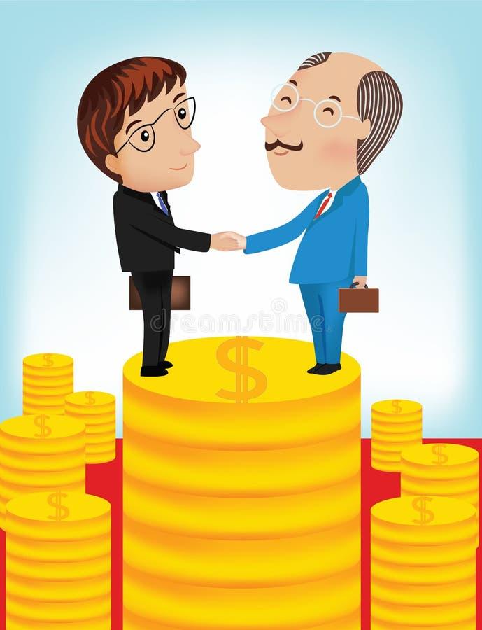 Download 商人握手传染媒介例证 向量例证. 插画 包括有 ,并且, 概念, 财务, 合作伙伴, 生意人, 契约, 总公司 - 59106913