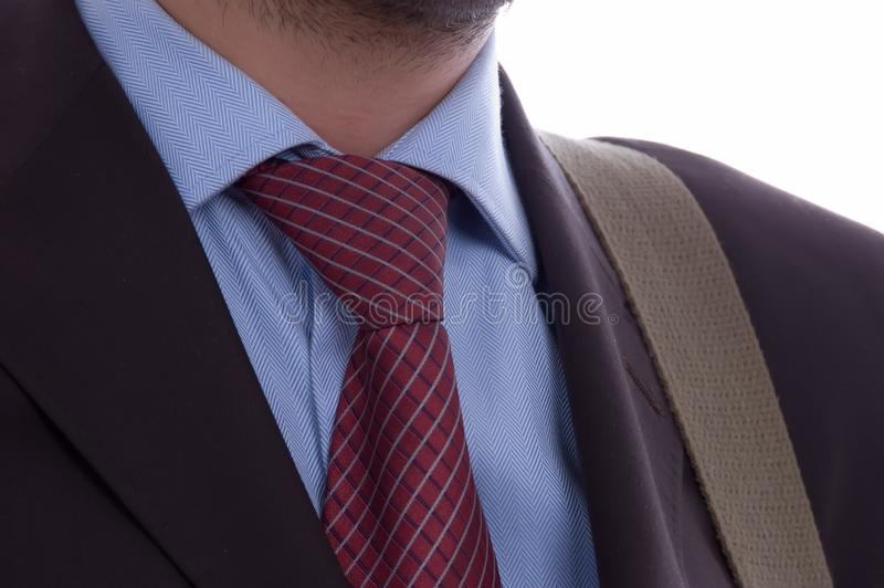 商人的详细资料 免版税库存图片