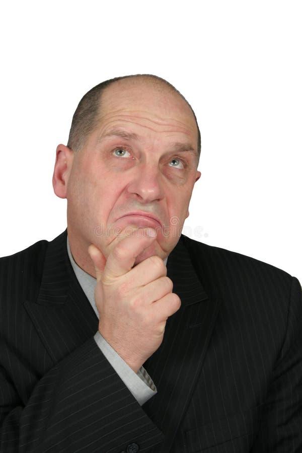 商人认为 免版税库存图片