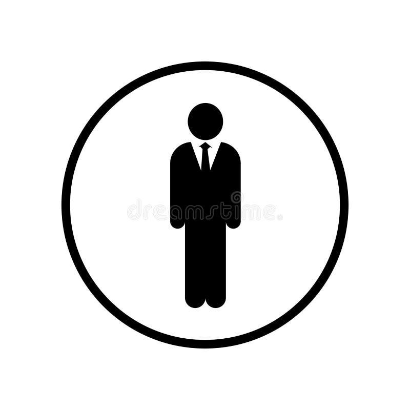 商人象-传染媒介偶象设计 向量例证