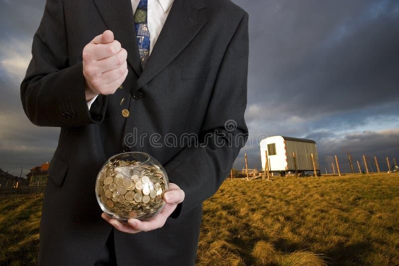 商人货币 库存照片