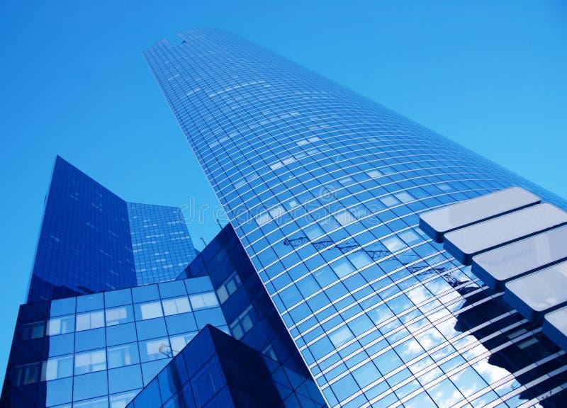 商务中心摩天大楼 库存图片