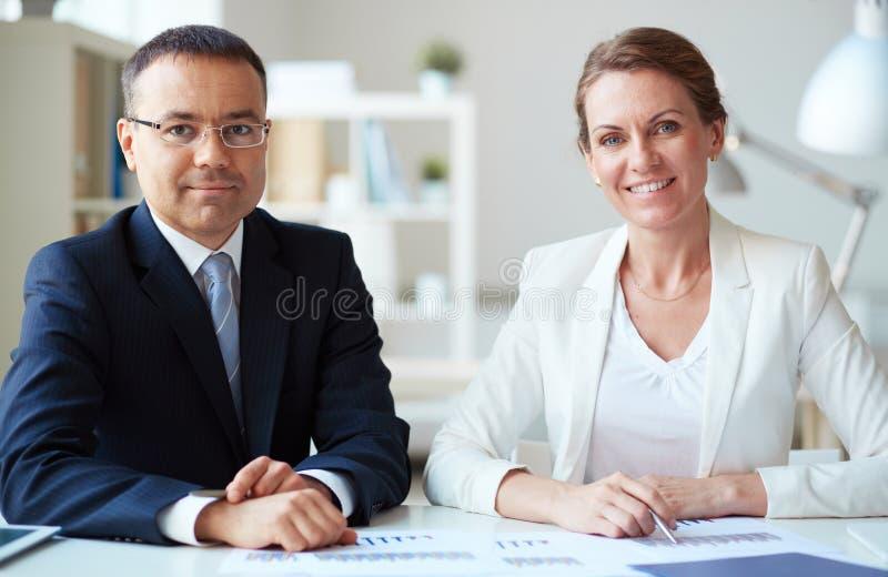 商务伙伴 免版税库存照片
