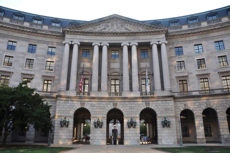 商务佣金dc跨境华盛顿 免版税图库摄影