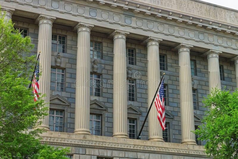 商务部在赫伯特C胡佛大厦的 免版税图库摄影