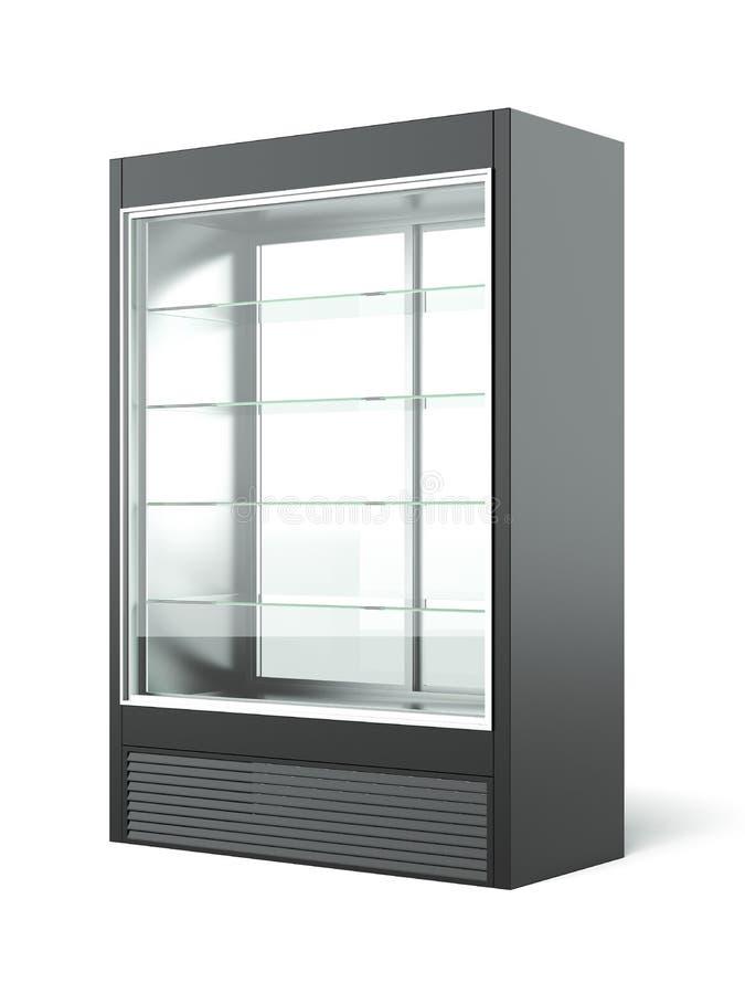 商品推销冰箱 库存照片