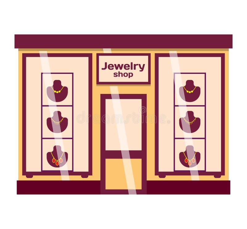 商店门面传染媒介例证 库存例证