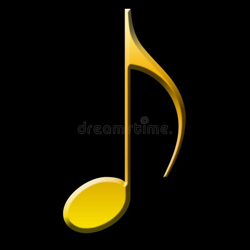 商标音乐和歌曲 向量例证