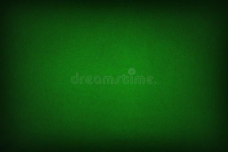 啤牌桌毛毡背景 免版税图库摄影