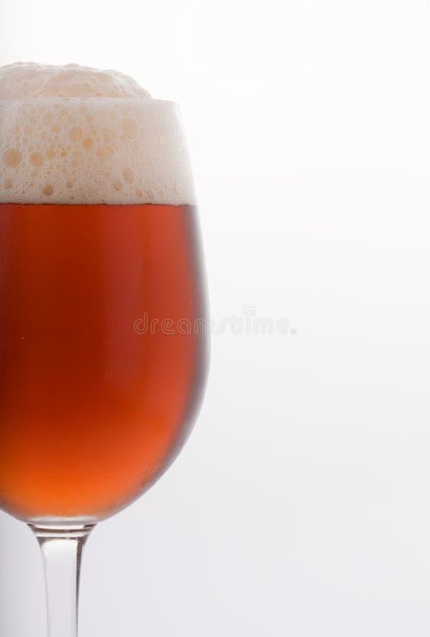 啤酒冷玻璃杯 免版税库存图片