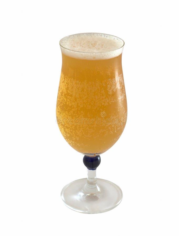 啤酒冷静新鲜的玻璃 免版税图库摄影