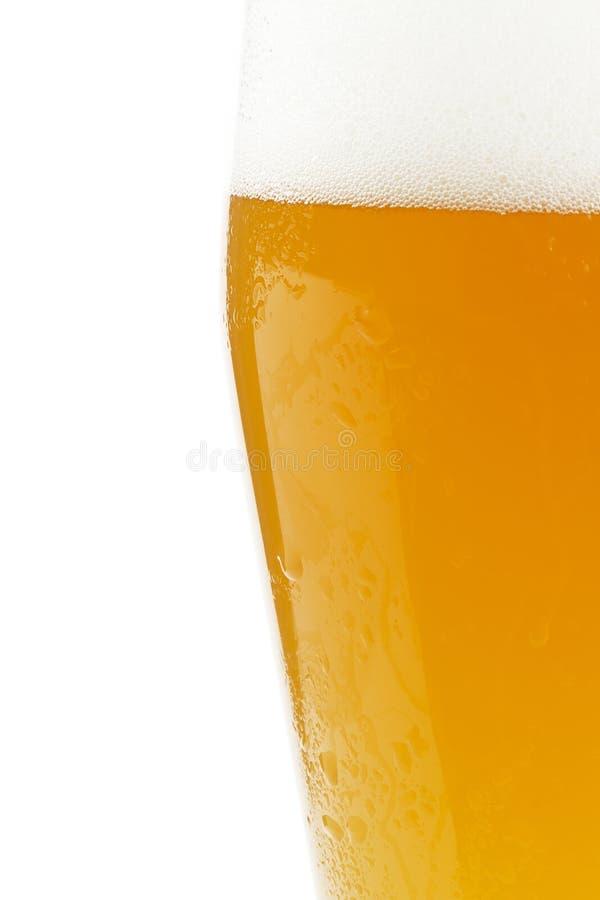 啤酒半麦子 库存图片