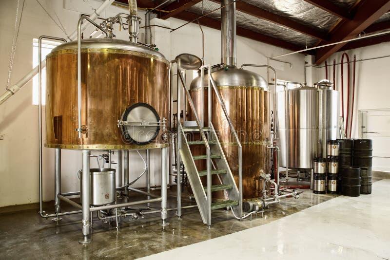 啤酒厂 库存照片