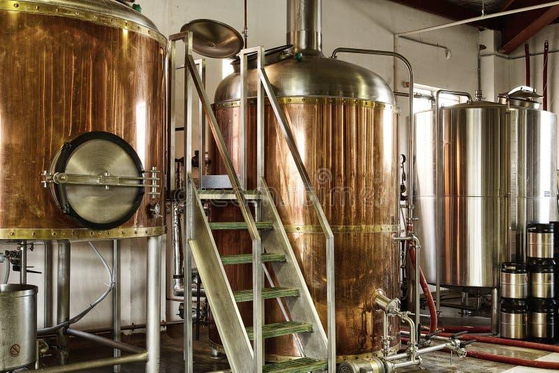 啤酒厂 免版税库存图片