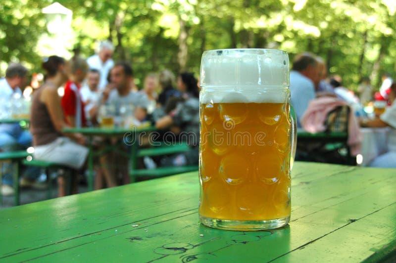 啤酒啤酒杯 图库摄影