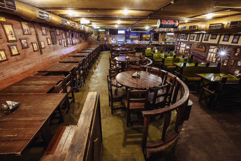 啤酒客栈爱尔兰语 库存照片