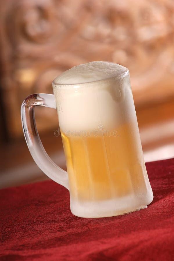 啤酒寒冷 免版税图库摄影