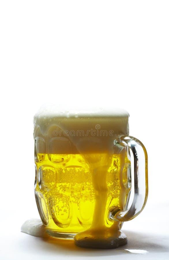 啤酒更多一些 库存图片