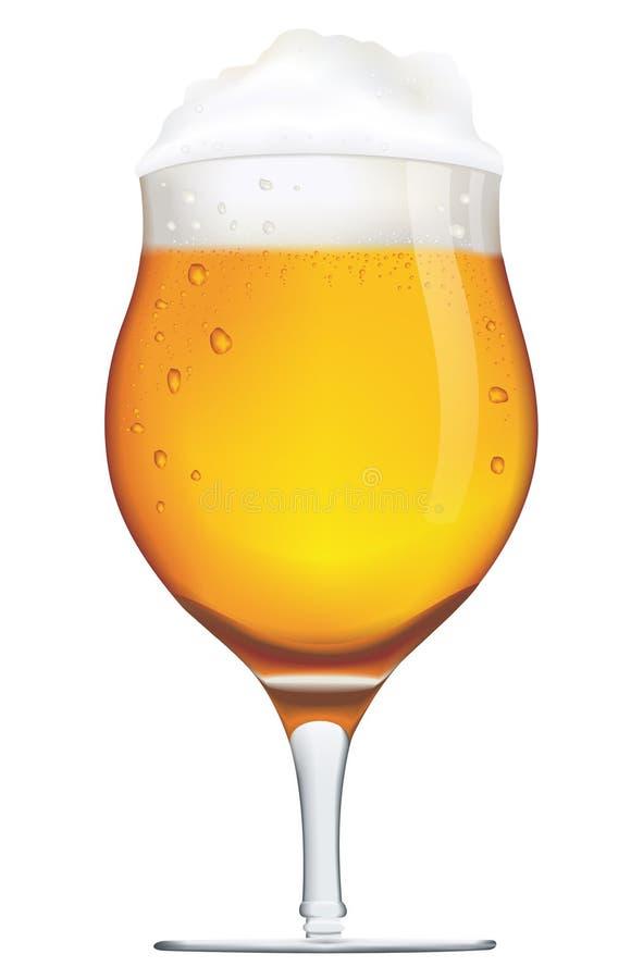 啤酒杯子 向量例证