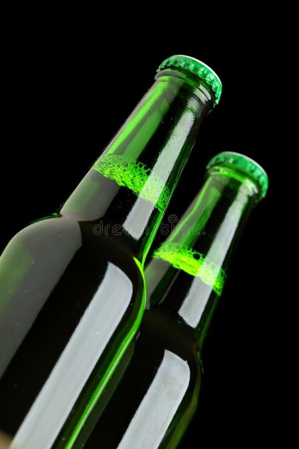 啤酒瓶二 免版税库存照片