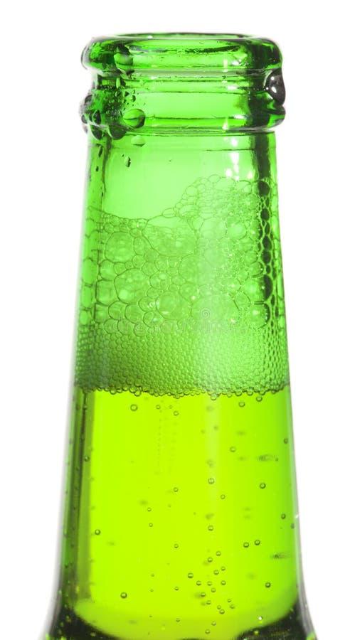 啤酒瓶开张了 免版税库存图片