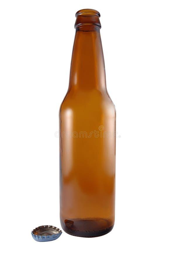 啤酒瓶盖帽 库存照片