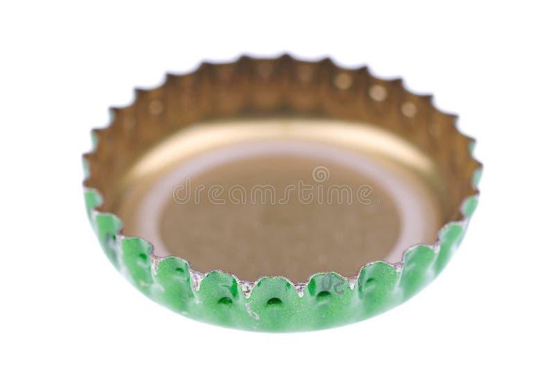 啤酒盖帽 免版税库存照片