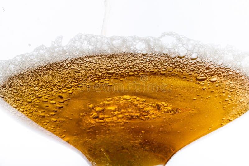 啤酒纹理 免版税库存照片