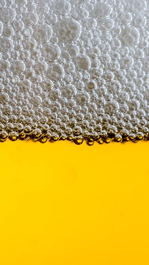 啤酒细节 免版税图库摄影