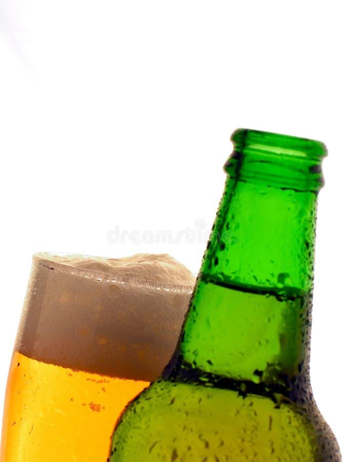 啤酒颜色 库存照片