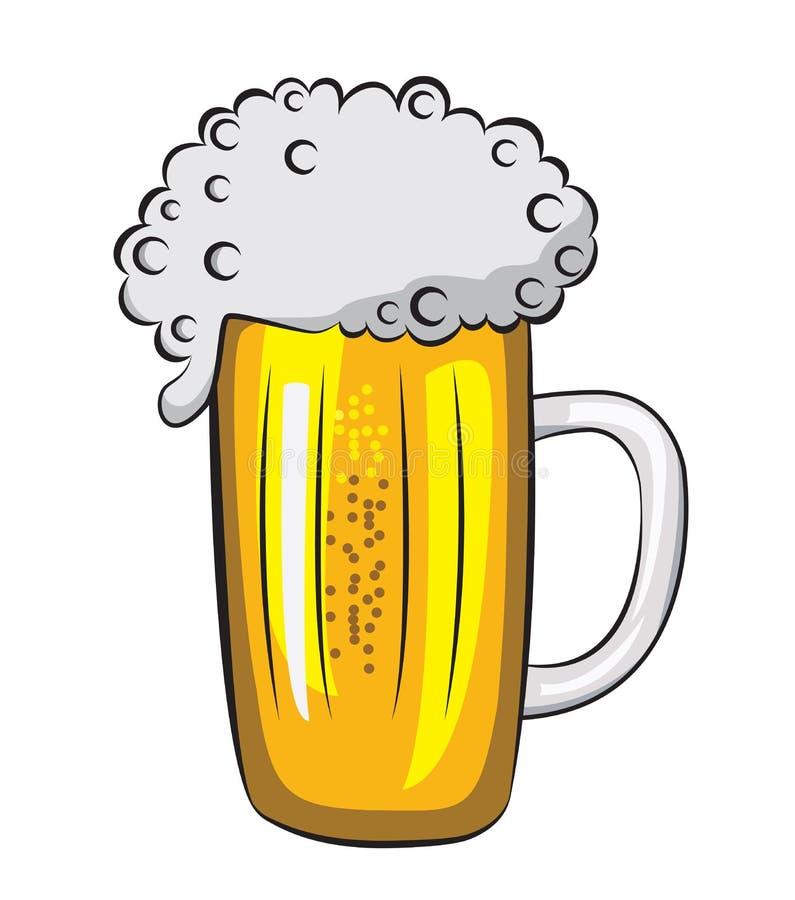 啤酒 向量例证