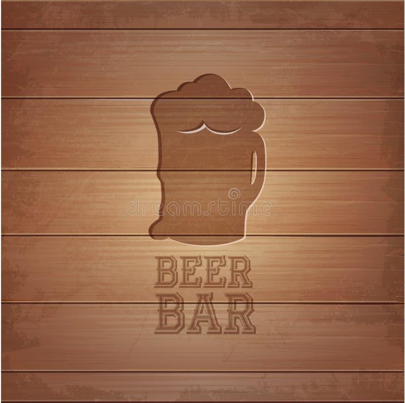 啤酒octoberfest海报 向量例证