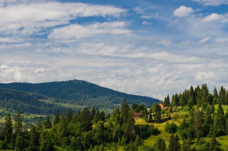 喀尔巴阡山脉10 库存照片