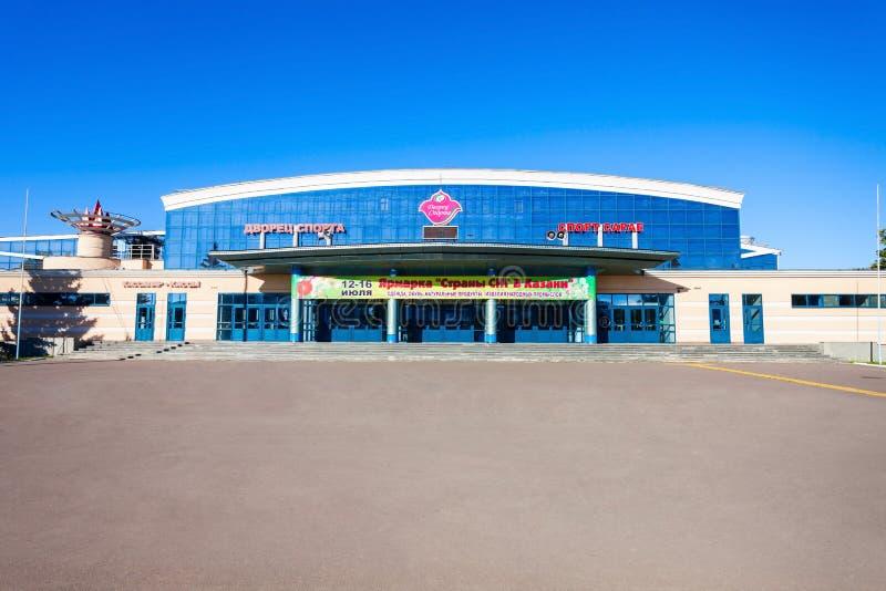 喀山体育比赛场所宫殿 免版税图库摄影