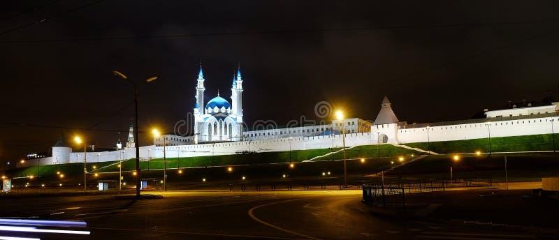 喀山克里姆林宫,喀山俄罗斯 免版税库存照片