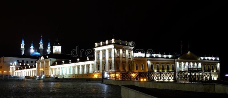 喀山克里姆林宫,喀山Rusia 免版税库存照片