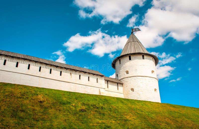 喀山克里姆林宫,鞑靼斯坦共和国 库存照片