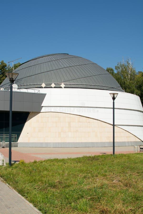 喀山,俄罗斯联邦- 2017年8月:喀山联邦大学天文馆以A命名的 A 列昂诺夫 免版税库存照片