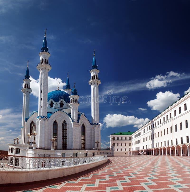 喀山kul清真寺sharif 库存照片