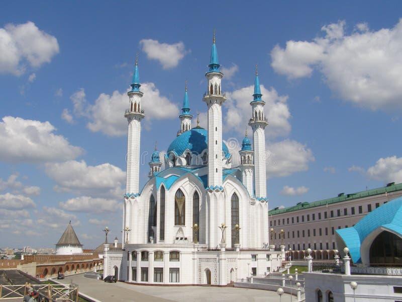 喀山Kul谢里夫清真寺 库存图片