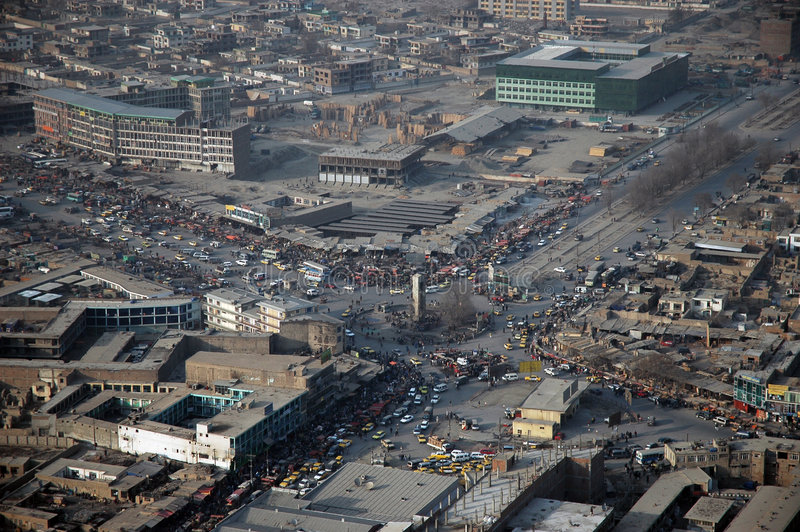 喀布尔 免版税库存图片