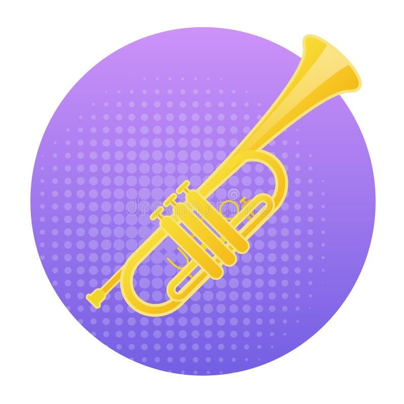 喇叭象风乐器概念 皇族释放例证