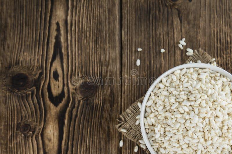 喘气的米的部分 库存照片