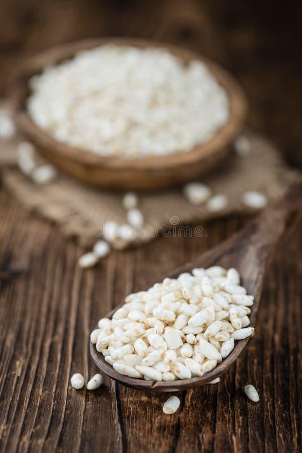 喘气的米的部分 免版税库存图片