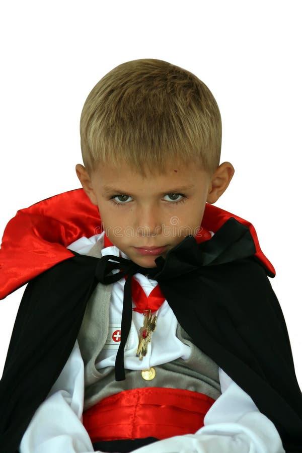 喜怒无常的吸血鬼 免版税库存照片