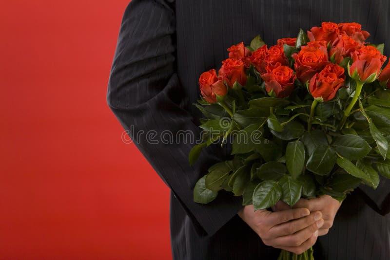 喜欢玫瑰 库存图片