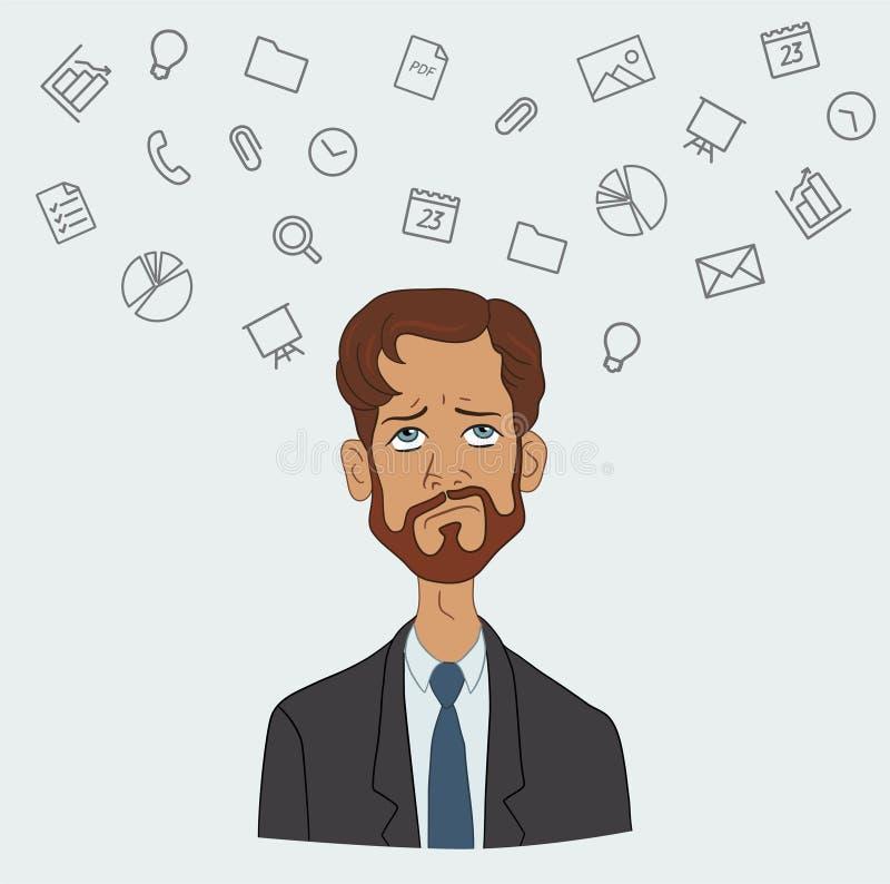 Download 喜爱的节目和工具经理项目,企业分析家 库存例证. 插画 包括有 自由职业者, 通信, 营销, 每天, 设计 - 62537503