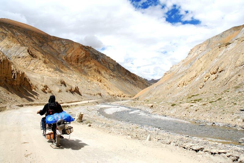 喜马拉雅山范围 库存图片