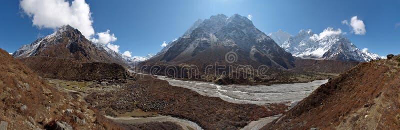 喜马拉雅山风景 图库摄影